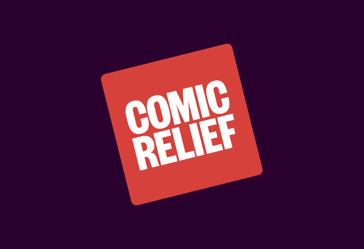 New Logos for Comic Relief and Red Nose Day by Whistlejacket
