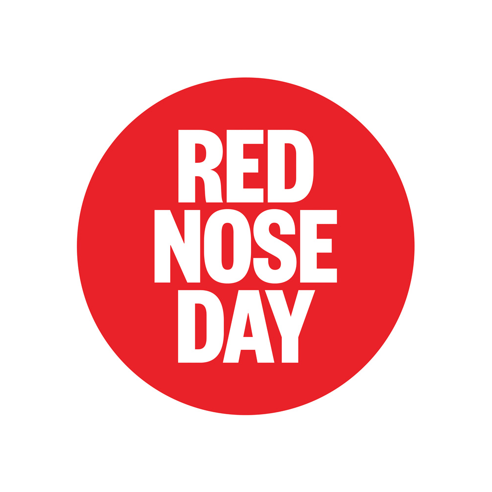 brand new new logos for comic relief and red nose day by