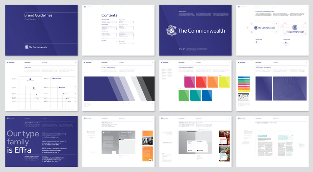 New Logo and Identity for The Commonwealth by Earth