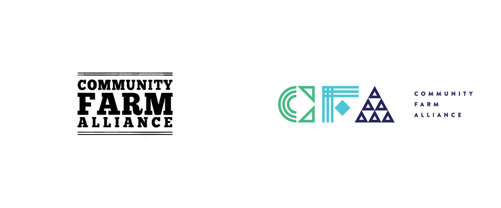 New Logo and Identity for Community Farm Alliance by Bullhorn