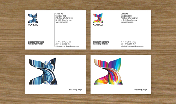 Conax Business Cards