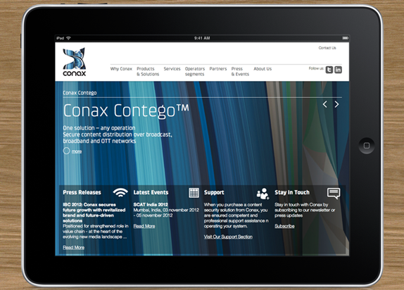 Conax Website