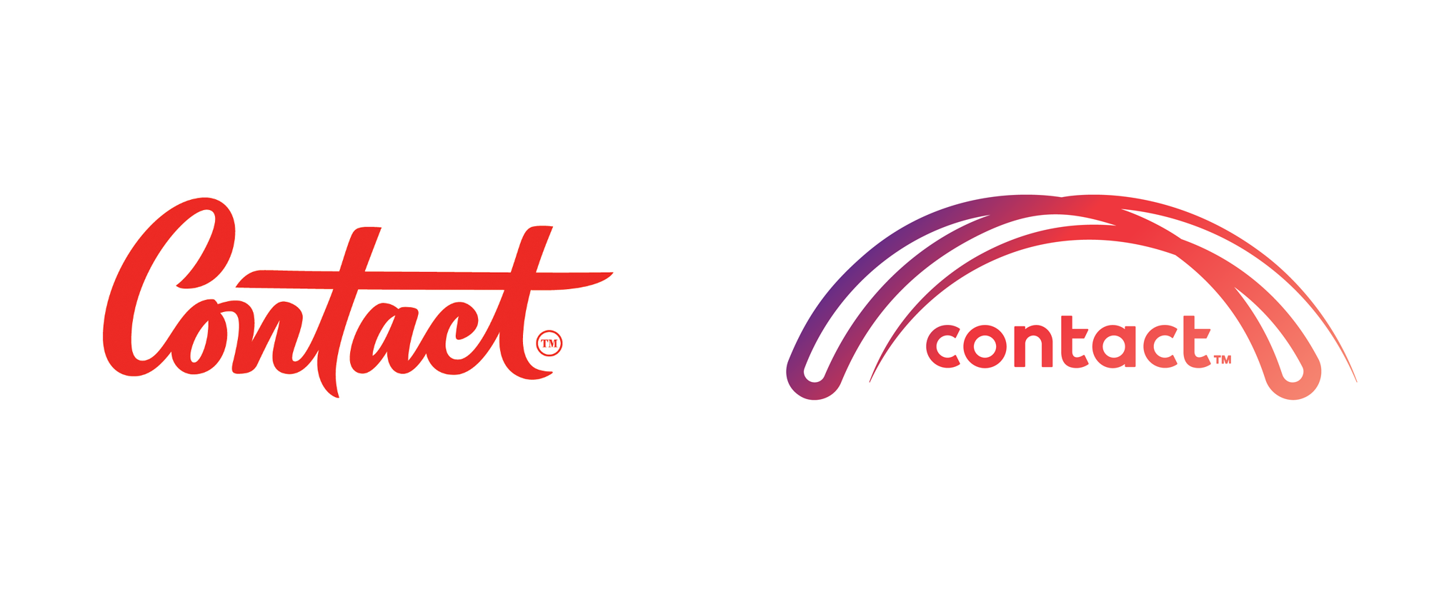 New Logo and Identity for Contact by Bob's Your Uncle