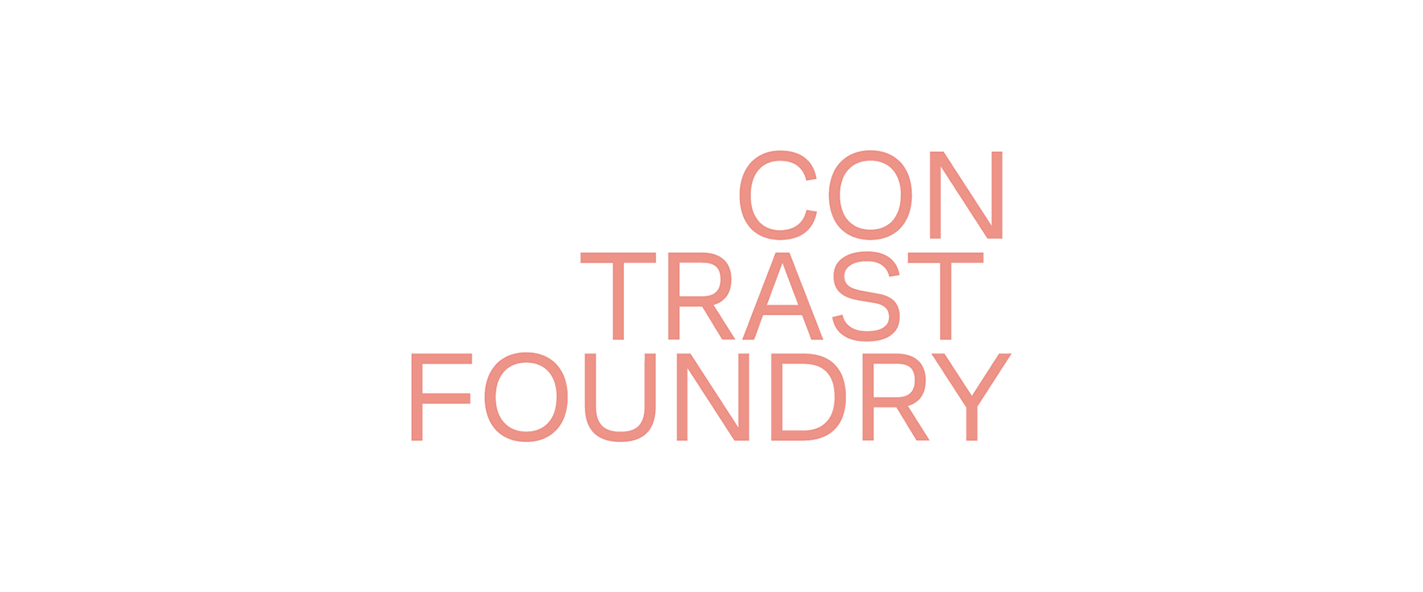 New Logo and Identity for Contrast Foundry by White Russian