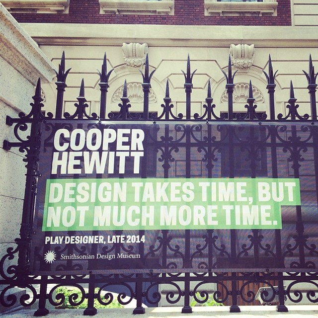 New Logo and Identity for Cooper Hewitt by Pentagram
