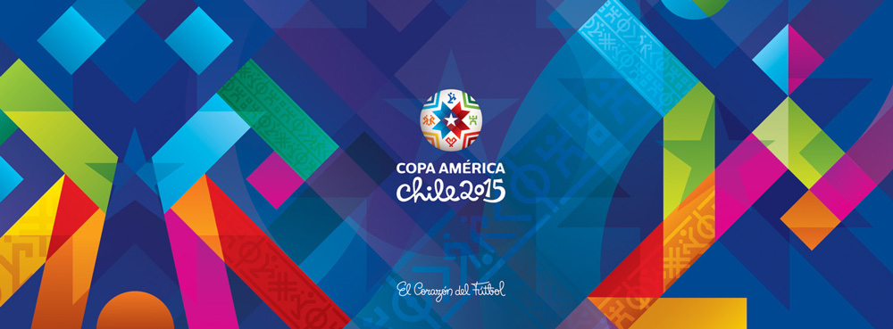 New Logo and Identity for Copa América by Brandia Central
