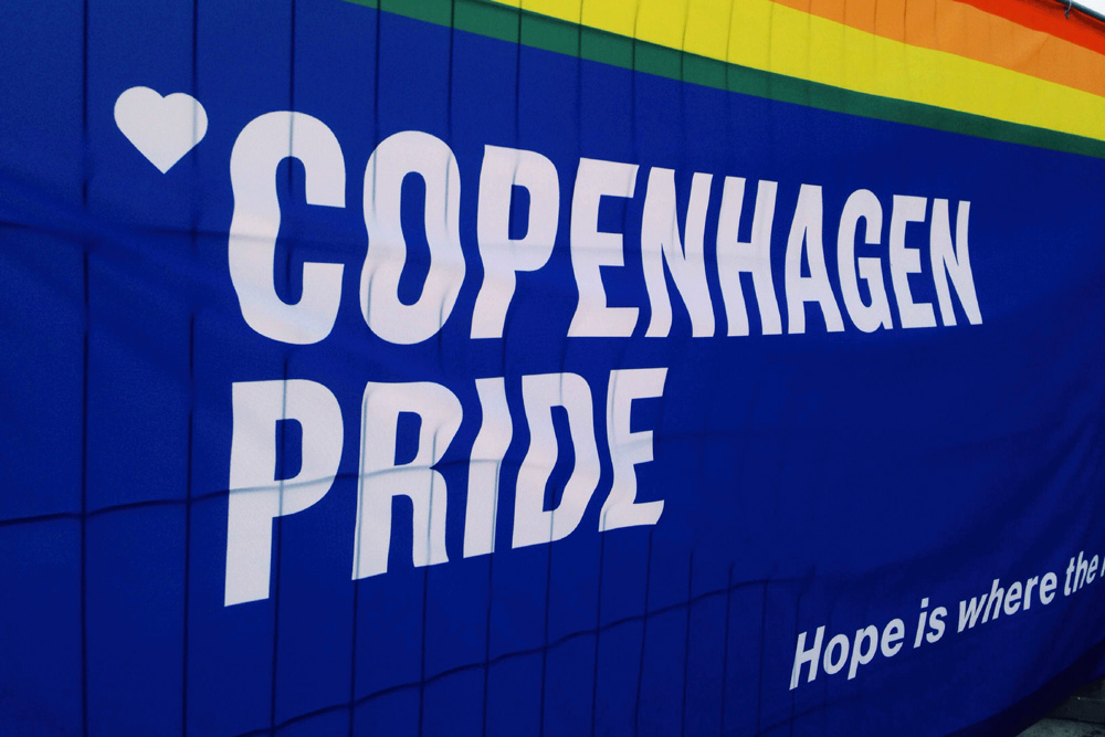 New Logo and Identity for Copenhagen Pride by Poulsen Projects