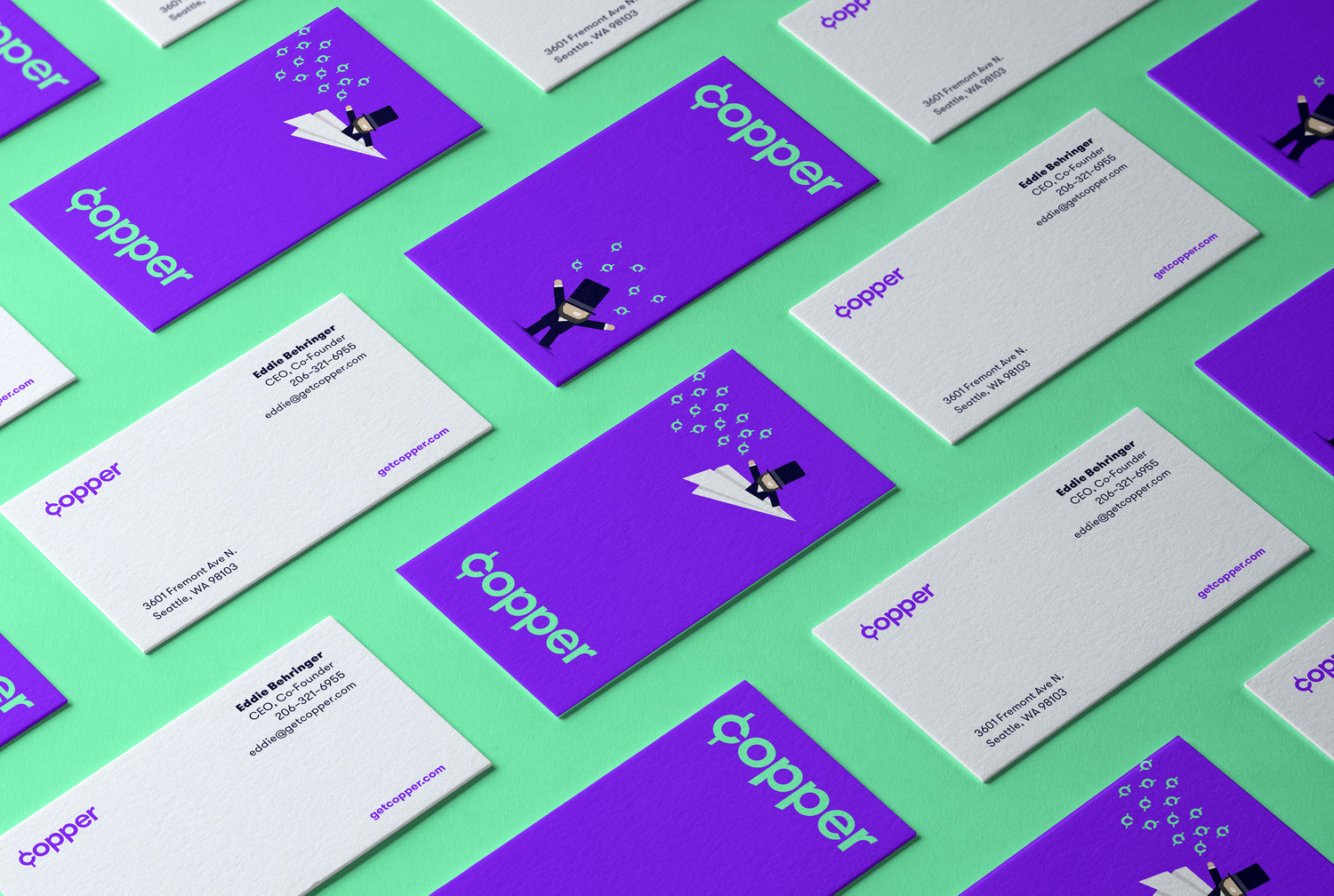 New Logo and Identity for Copper by Siren