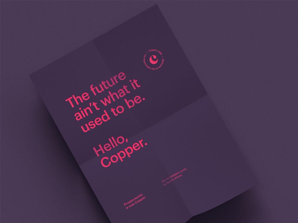 New Name, Logo, and Identity for Copper by Ueno