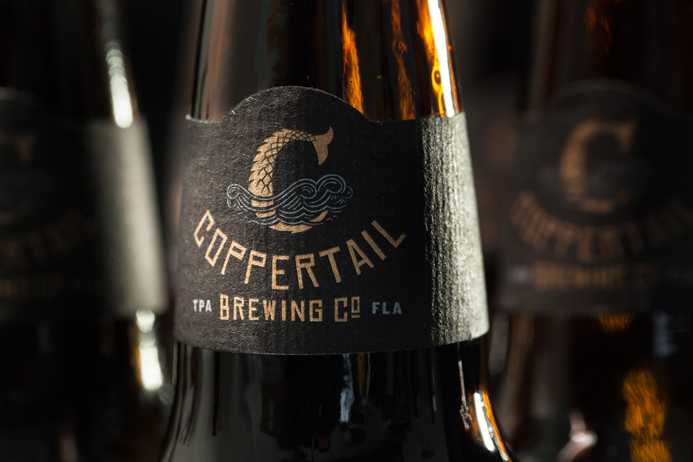 New Logo, Identity, and Packaging for Coppertail Brewing Co. by Spark