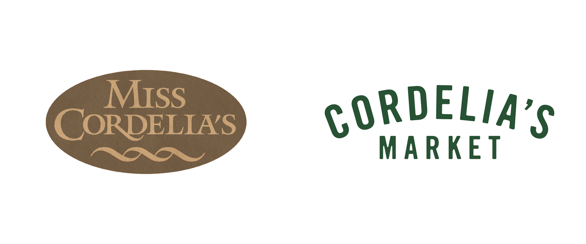 New Logo and Identity for Cordelia's Market by Loaded for Bear
