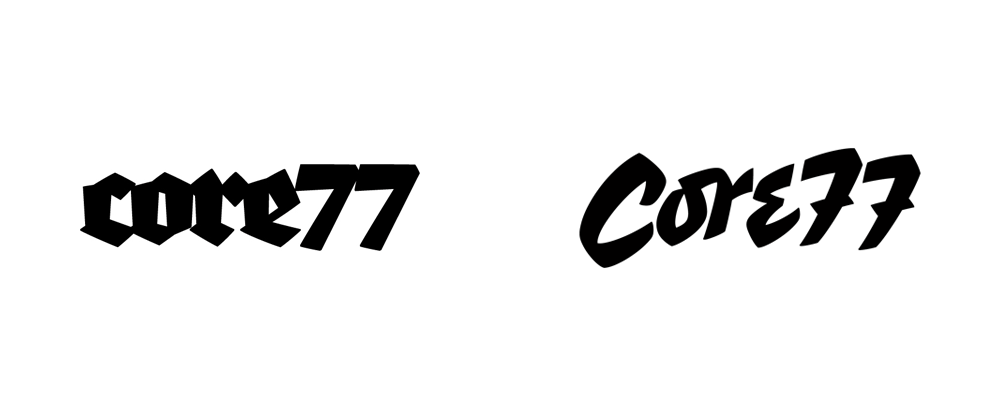 New Logo for Core77 by Ken Barber