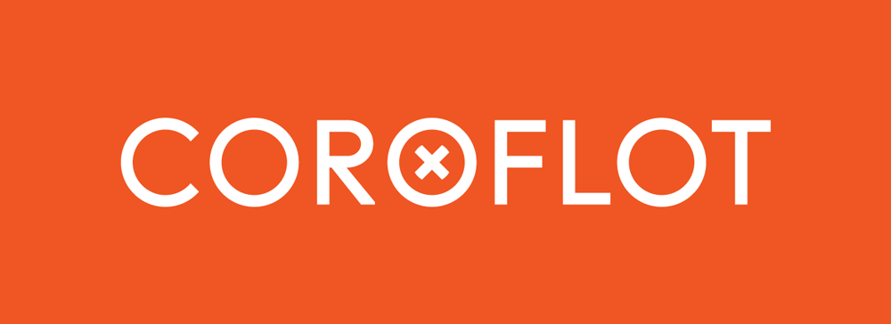 New Logo for Coroflot by The Collected Works and In-house