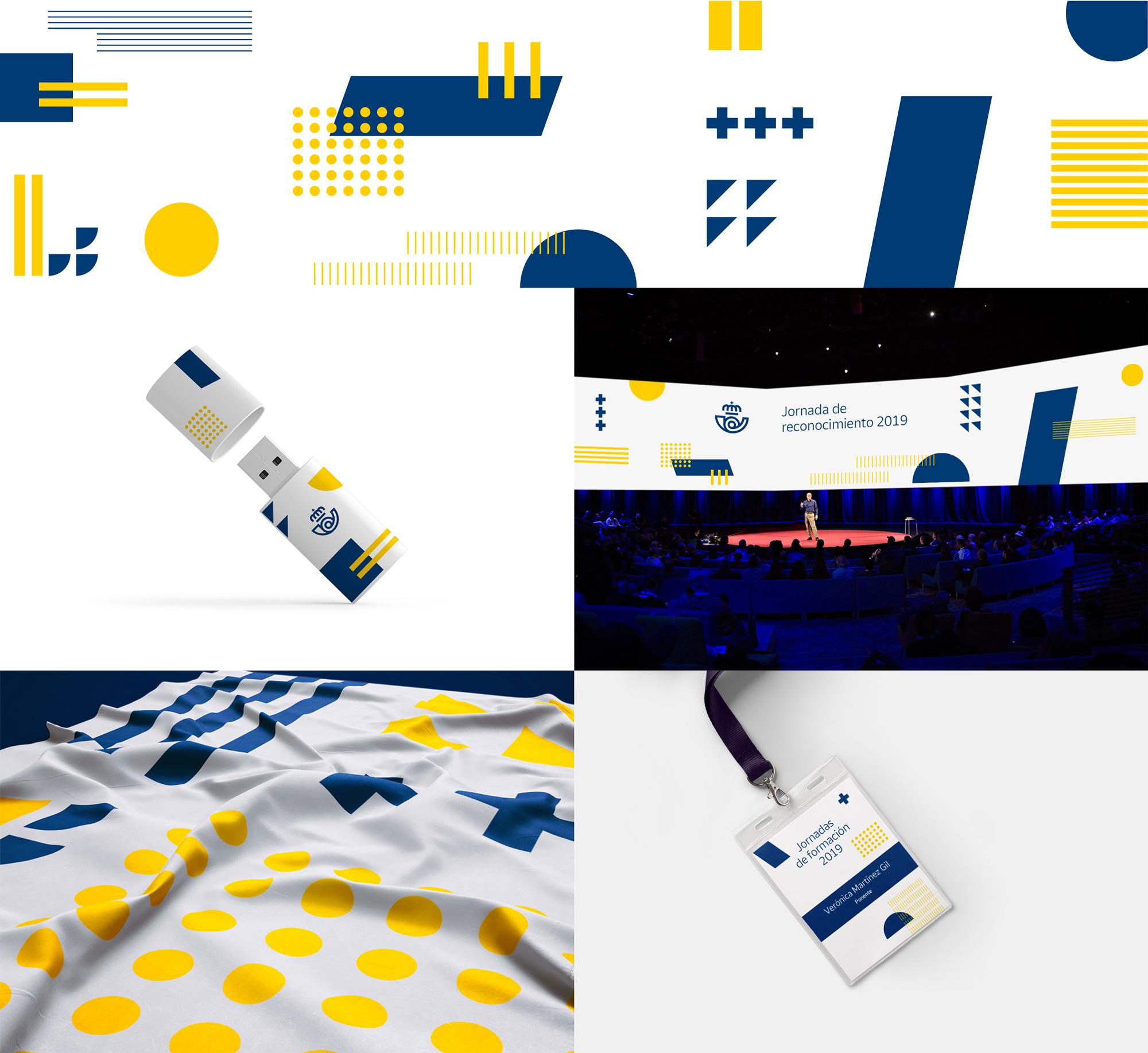 New Logo and Identity for Correos by Summa