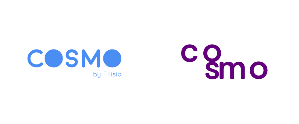New Logo and Identity for Cosmo by Milton Bottis