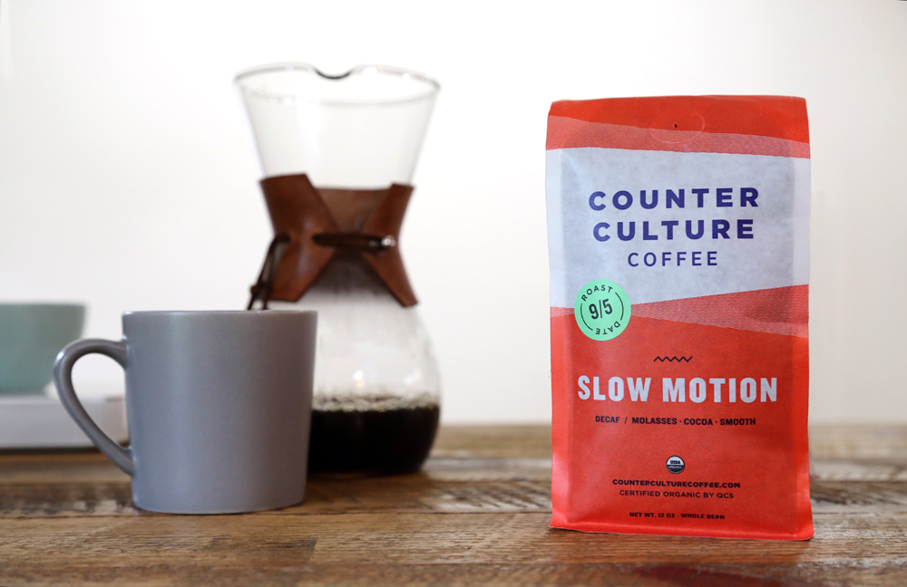 New Packaging for Counter Culture Coffee done In-house