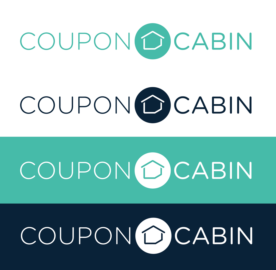 New Logo and Identity for CouponCabin by gravitytank