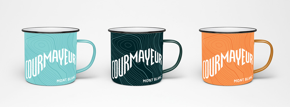 New Logo and Identity for Courmayeur by Interbrand