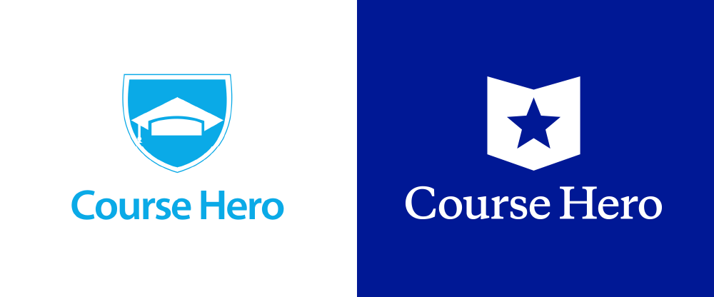 New Logo for Course Hero by Chermayeff & Geismar & Haviv