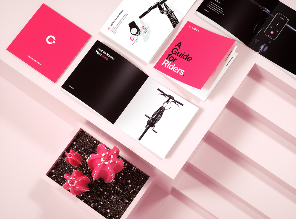New Logo and Identity for Cowboy by Ueno