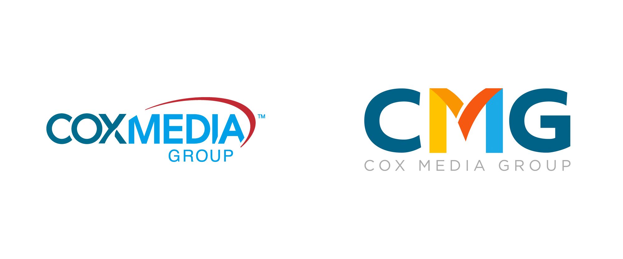 New Logo for Cox Media Group done In-house (as a Contest)