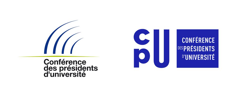 New Logo and Identity for Conférence des Présidents d'Université by Graphéine