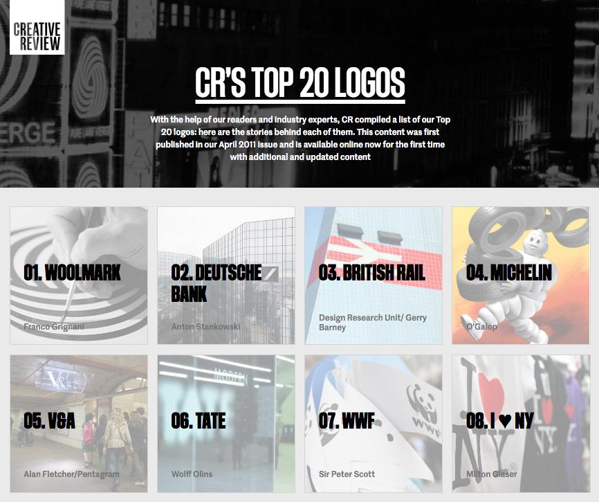 CR's Top 20 Logos