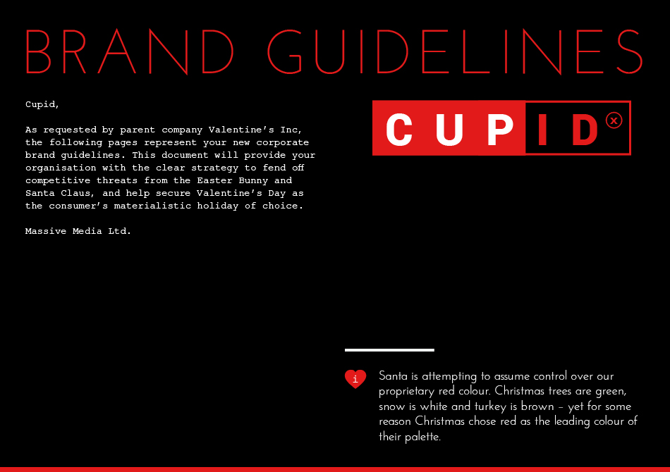 Cupid Guidelines