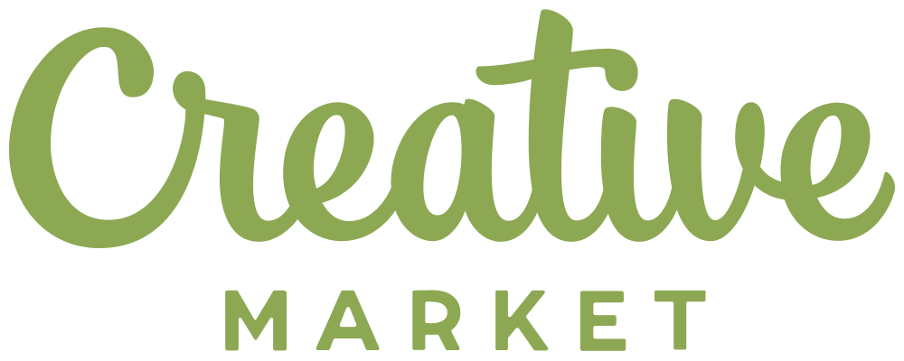 New Logo for Creative Market done In-house