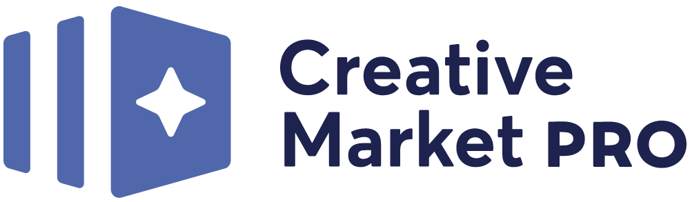 New Logo for Creative Market Pro done In-house
