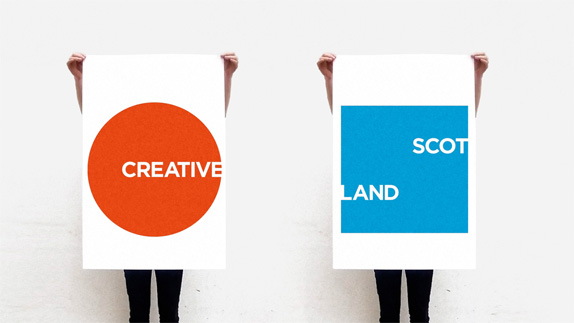 Creative Scotland Logo, New