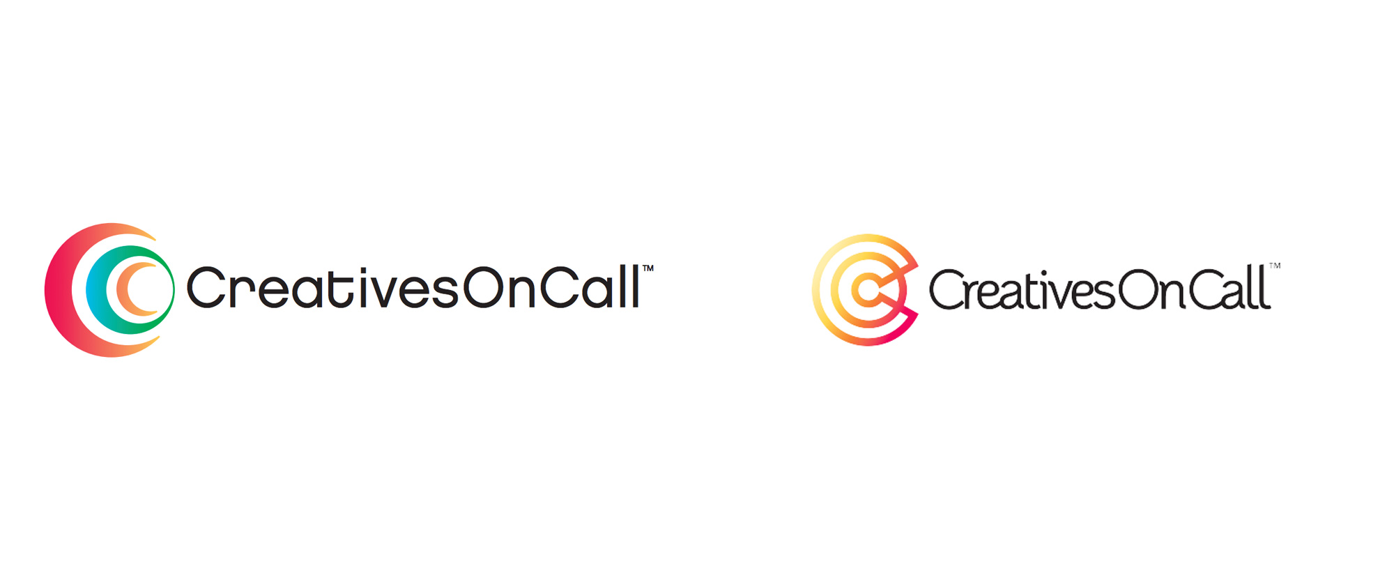 New Logo for Creatives on Call