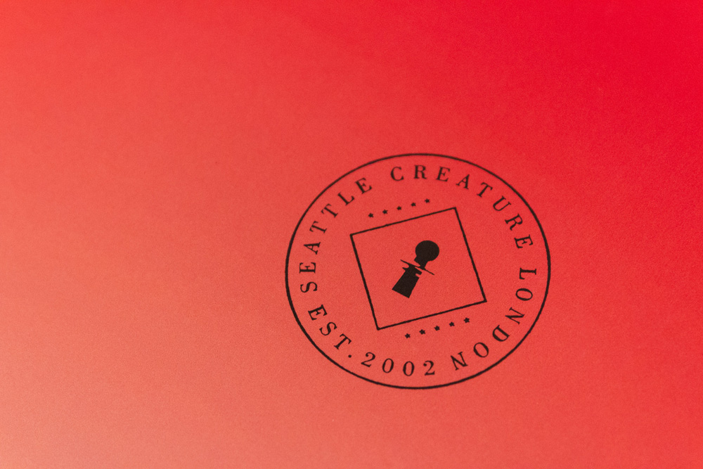New Logo and Identity by and for Creature