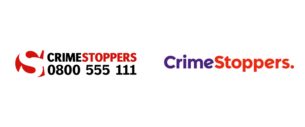 New Logo and Identity for Crimestoppers by The Team