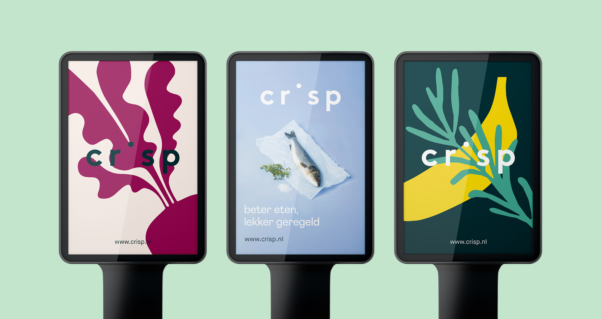 New Logo and Identity for Crisp by Studio Kraftwerk