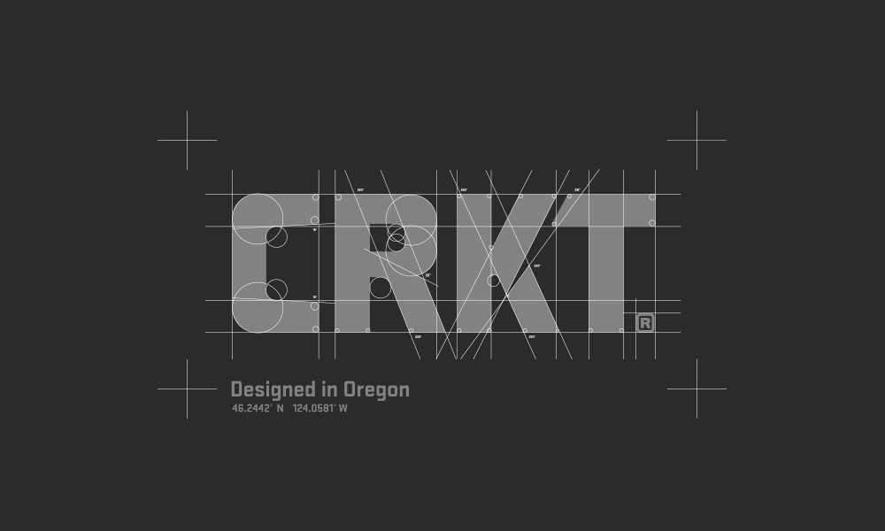 New Logo and Identity for CRKT by Blue Collar Interactive