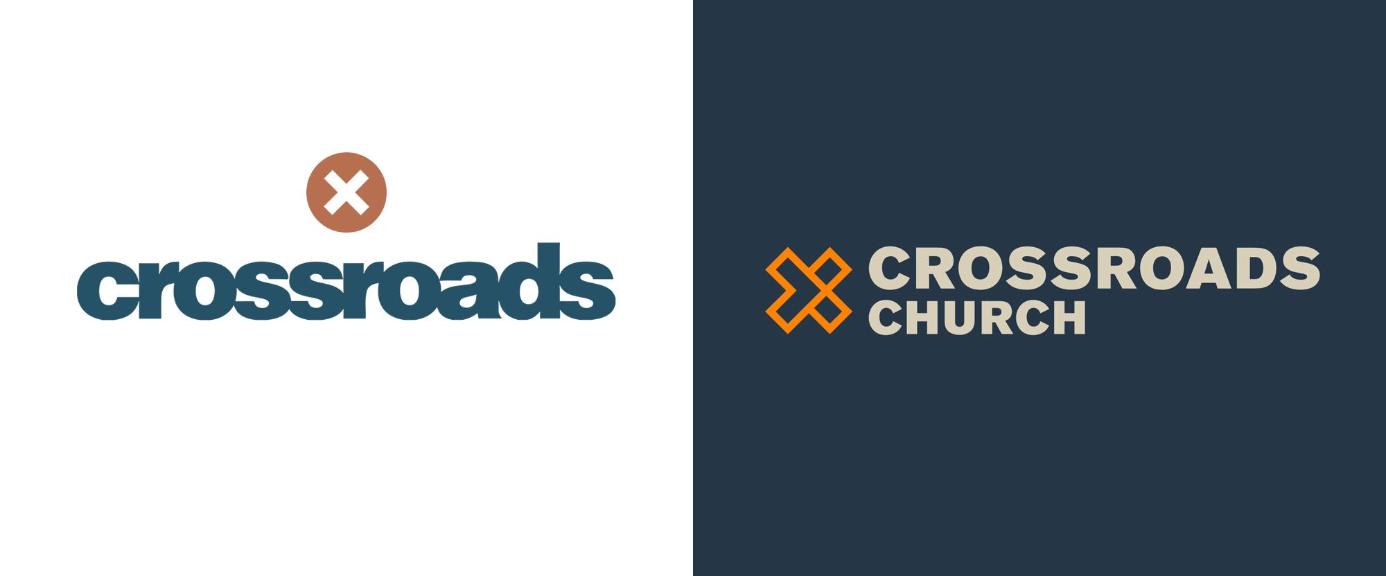 New Logo for Crossroads Church