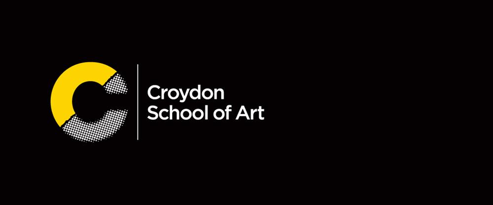 New Logo and Identity for Croydon School of Art by Blast