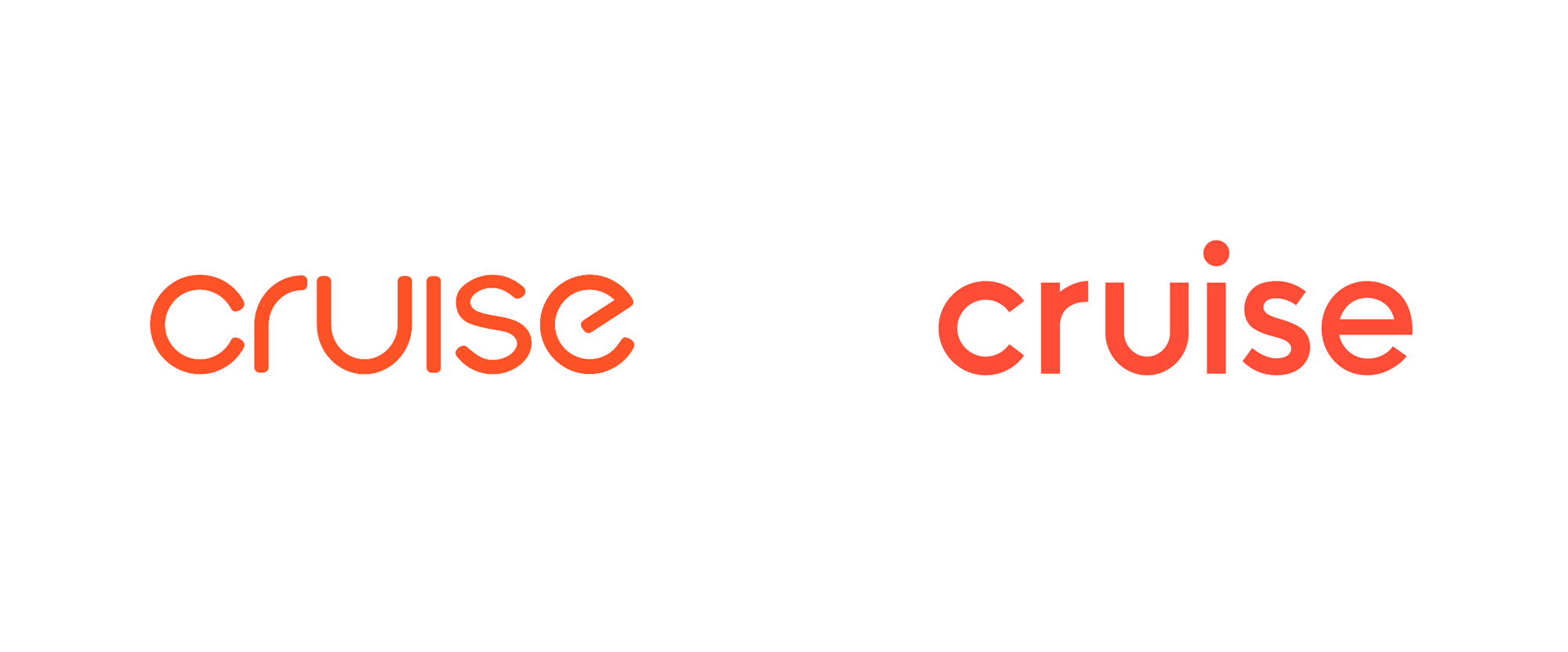 New Logo and Identity for Cruise by Moving Brands and In-house