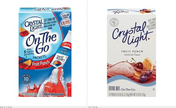Brand New Crystal Light Thinner And Lighter