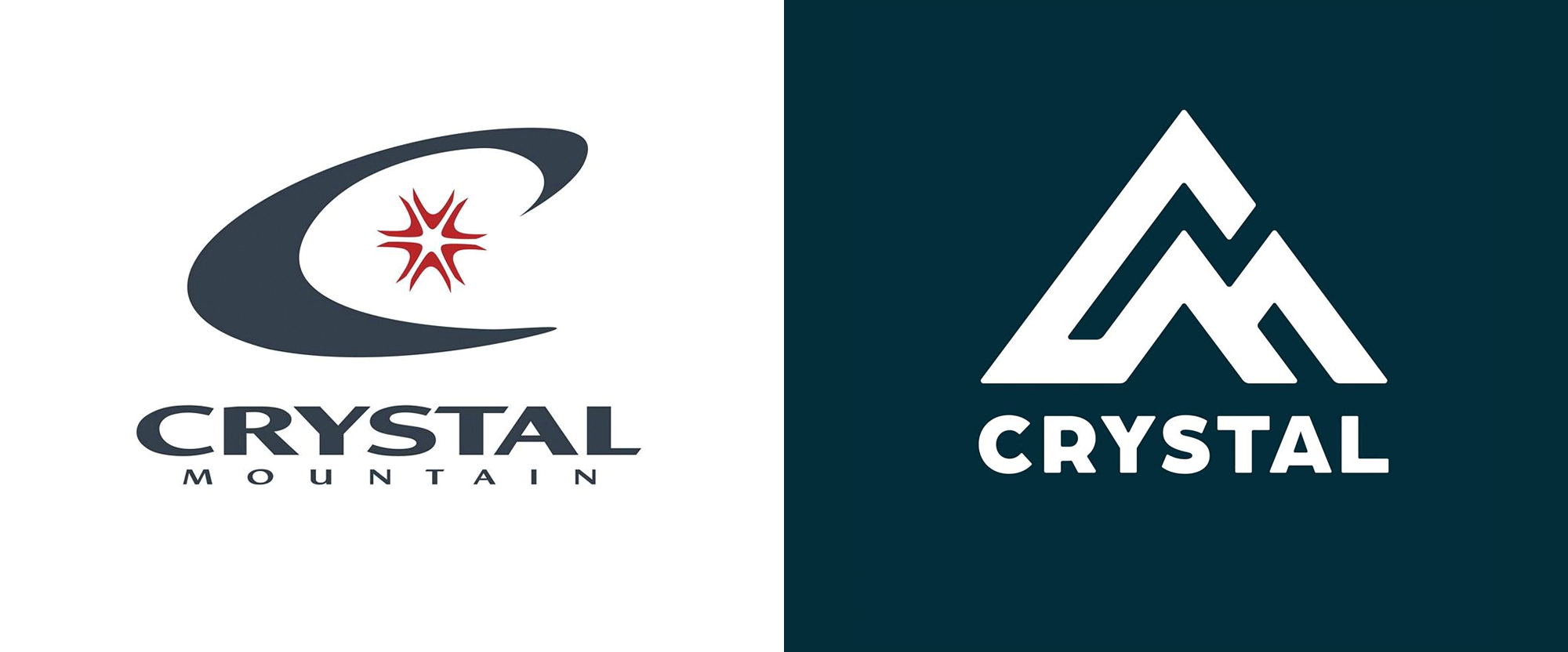 New Logo for Crystal Mountain