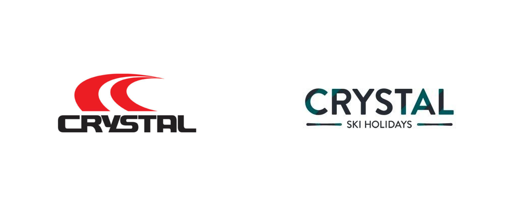 New Logo and Identity for Crystal Ski Holidays by SomeOne
