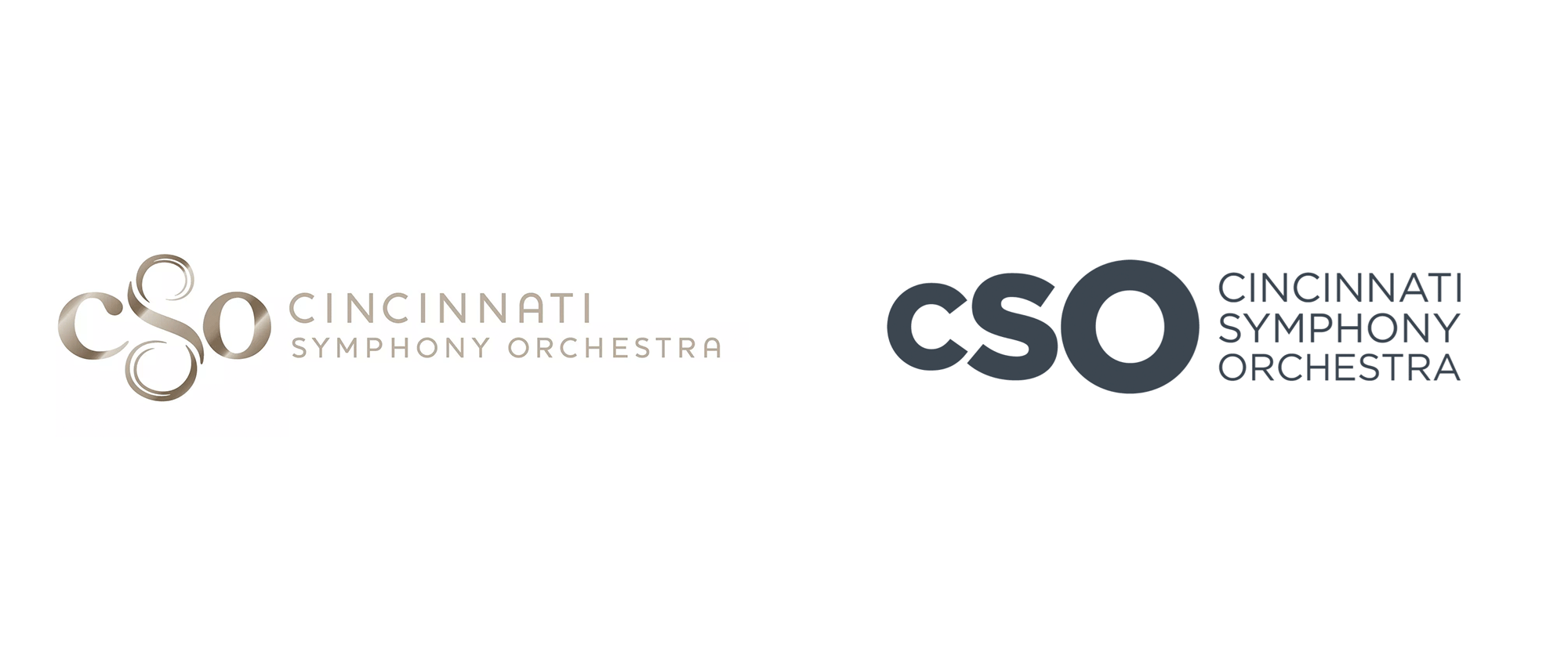 New Logo and Identity for Cincinnati Symphony Orchestra by Troika
