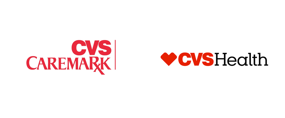 brand new  new name and logo for cvs health by siegel gale