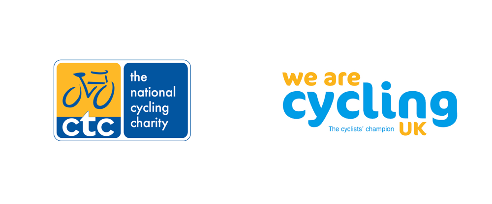 New Name and Logo for Cycling UK