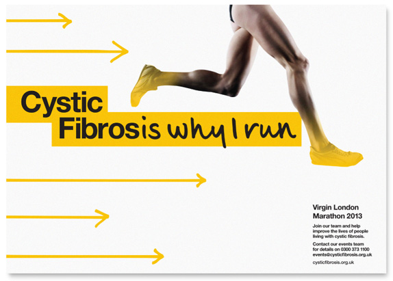 Cystic Fibrosis Trust Logo and Identity