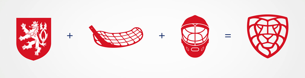 New Logo and Identity for Czech Floorball by Dynamo