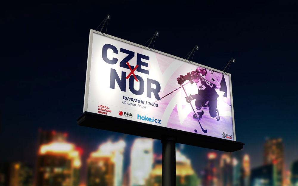 New Logo and Identity for Czech Ice Hockey by Go4Gold