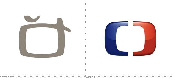 Česká Televize Logo, Before and After