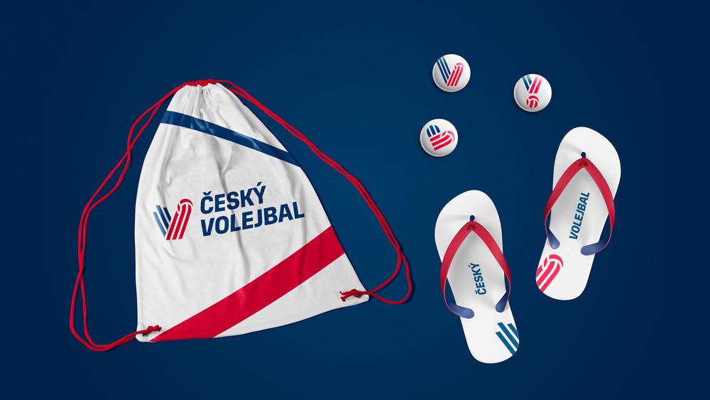 New Logo and Identity for Český Volejbalový Svaz by Dynamo Design